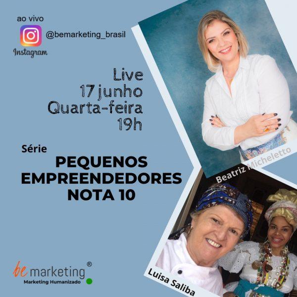 Foto Live Pequenos Empreendedores Nota 10
